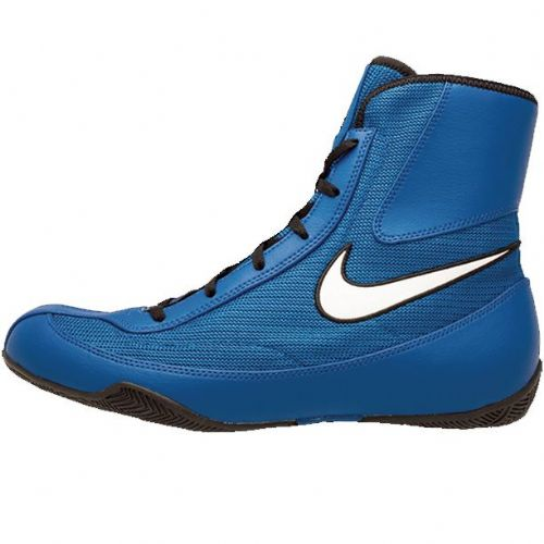 Nike Machomai V2 Boxing Boots - Blue